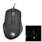 X-LSWAB X-W019 USB 2.0 Wired Optical 800 / 1200 / 2000dpi Game Mouse - Black