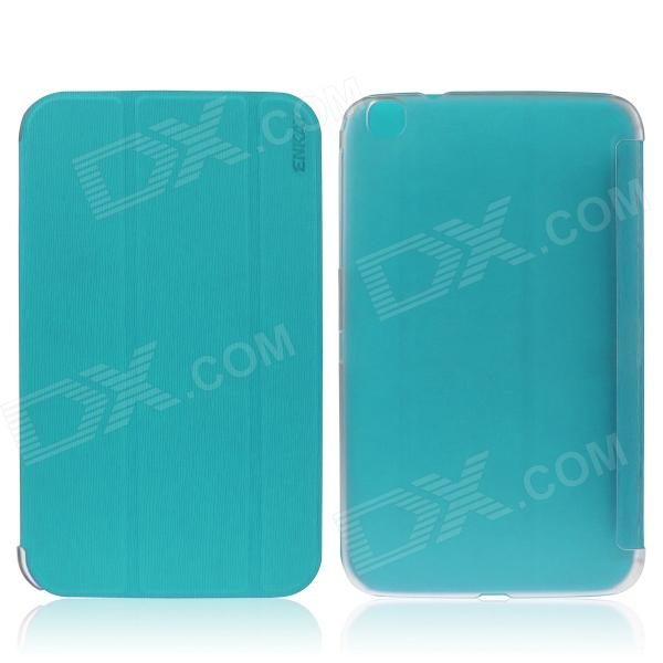 ENKAY ENK-7037 Protective Case Cover for Samsung Galaxy Tab 3 8.0 T310 / T311 - Blue Green pu leather tablet case cover for samsung tab 3 8 0 t310 t311 t315 sm t310 sm t311 luxury stand e book protective shell 8 0 inch