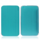 ENKAY ENK-7037 Protective Case Cover for Samsung Galaxy Tab 3 8.0 T310 / T311 - Blue Green