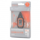 "ELAH 1.5"" Screen Digital Pocket Pedometer - Black + Orange"