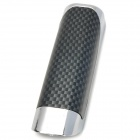 SHUNWEI SD-2002 ABS Car Handbrake Cover - Black + Silver