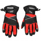 SCOYCO 10MC15 Full-Fingers Motorcycle Racing Gloves - Black + Red (Size XL)
