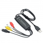 EZCAP AVC-03 USB 2.0 Audio Grabber Capture w/ CD - Black