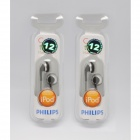 Philips SHE2640 In-Ear Headphones for Ipod Color Earbuds (2 PCS)