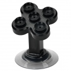 JX1-012 Universal 360 Degree Rotation Car Mount Holder w/ Suction Cup for Samsung Iphone - Black