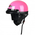 FR 03 Motorcycle Comfortable ABS Helmet w/ Goggles - Pink (Size L)