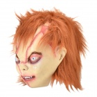 Bad Boy Horror Mask - Brown + Red + Nude
