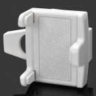 SD-1107W 360 Degree Rotation Car Mount Holder for Iphone / 4.5~7cm Cellphone - White