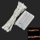 2W 3500K 40-LED Warm White Decorative String Light - Warm White (4m)