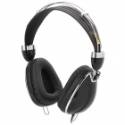 Kanen IP-900 Stylish Headphones w/ Cable Control / Microphone for Iphone / Ipad - Black