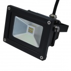 KPT 10W 6-LED RGB Color-Changed Flood Light / Projection Lamp w/ Remote Control - Black (85~265V)