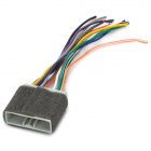 Car CD DVD Audio Power Connector Plug Cable for Honda Civic - Multicolored