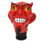 Red Devil Style Resin Car Gear Shift Knob - Red