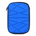 Irregular Pattern Protective Zippered Neoprene Bag Pouch for Ipad MINI - Blue