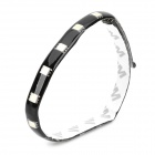 DIY-002 18-SMD 5050 LED Blue Car / Chassis Light Strip - Black + White