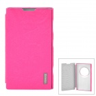 USAMS EOSHY04 Forever Young Series Protective PU + PC Case for Nokia Lumia 1020(EOS) - Deep Pink