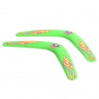 Sports V-Style Outdoor Boomerang vôo - Green (2 PCS)