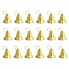 Christmas Tree Decorative Bells - Golden (18 PCS)