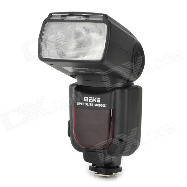 MEIKE MK-950II-N GN58 TTL Wireless Trigger Remote Flash Speedlite for Nikon DSLR - Black meike mk 950ii n gn58 ttl wireless trigger remote flash speedlite for nikon dslr black