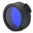 NITECORE NFB60 60mm Blue Optical Filter - Black + Blue