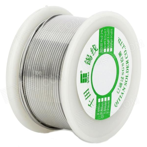 Qitian B5510200G Lead Tin Soldering Wire Wick Roll - Silver qitian b5510200g lead tin soldering wire wick roll silver