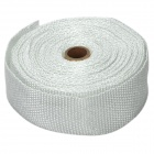 Car / Motorcycle Exhaust Fire / Heat Insulation Fiber Tape - White (10m)