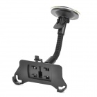 Car Windshield 360 Degree Rotation Mount Holder for Iphone 5S - Black