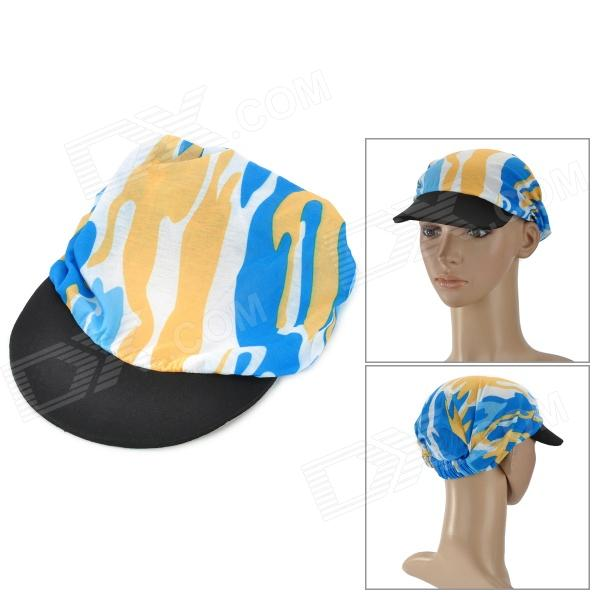 Outdoor Sport Cycling Sunproof Nylon Hat - Multicolored