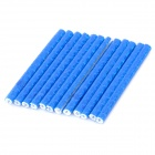 Bike Bicycle Reflective Spoke Clips Stripe - Blue (12PCS)