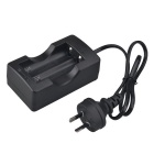 SingFire XBHY12C-042A AU Plug 2 x 18650 Lithium Battery Charger/charging - Black