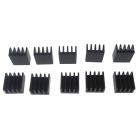 Heacent HS01 DIY 3D Printer Parts A4988 / A4982 Stepper Motor Driver Heat Sinks - Black (10 PCS)
