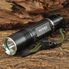 RAYSOON RS747 Cree XM-L T6 600lm 5-Mode White Flashlight - Black (1 x 18650 / 26650 or 3 x AAA)