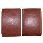 Protective PU Leather Flip Case for Amazon Kindle Paperwhite - Brown