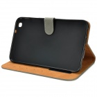 Protective PU Leather Flip Case for Samsung Tab3 T310 / T311 - Grey