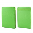 Protective PU Leather Top-flip Stand Case for Amazon Kindle Paperwhite - Green