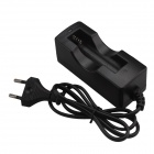 SingFire EU-SC5 EU Plug Single Groove Intelligent Rapid AC Power Charger Adapter for 18650 Battery