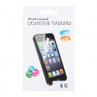 PET Screen Protector Guard Film for Iphone 5C - Transparent