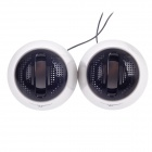 Microkingdom R6 2.0 Channel Multimedia Mini Speakers - Black + White