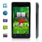 "Utime U9 MT6589 Quad-Core Android 4.2 WCDMA Bar Phone w/ 4.5"" IPS, 4GB ROM, Wi-Fi, GPS - Black"