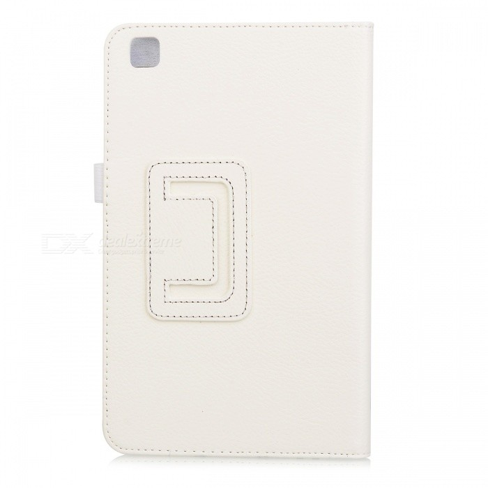 Protective PU Leather Flip Case for Samsung Galaxy Tab 3 8.0 T310 - White