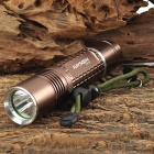 RAYSOON RS748 Cree XM-L T6 600lm 5-Mode White Flashlight - Brown (1 x 18650 / 26650 or 3 x AAA)