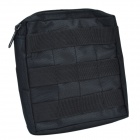 6X6 Outdoor Special Warfare Accessories Bag - Black