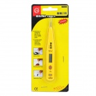 Digital AC/DC12V~250V Voltage Measuring Tool Test Pencil - Yellow + Black