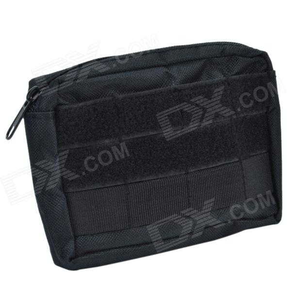 800D Waterproof Fabrics 4 x 6 Outdoor Accessories Bag for Special Warfare - Black