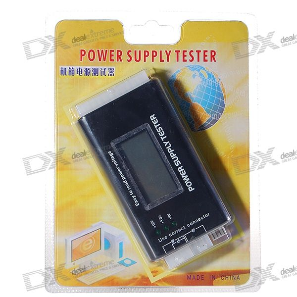 2 LCD PC Computer ATX/BTX/ITX+HDD+SATA Power Supply Tester (English Edition) atx 80plus efficiency 500w power gold power 12v sata port connectors 12cm fan high quality computer power supply for btc