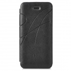 Printing Pattern FLip Open PU Leathear Case for Iphone 5C - Black