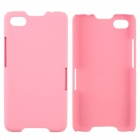 Fashionable Super Thin Protective Glaze PC Back Case for BlackBerry Z30 - Pink