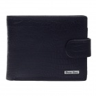 BEIDIERKE B024-206 High-Grade Head Layer Cowhide Wallet - Black