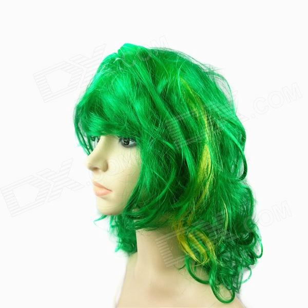Cool Nylon Fans Wig for Brazilian World Cup - Green