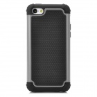 2-in-1 Football Pattern Protective Back Case for Iphone 5C - Black + Grey